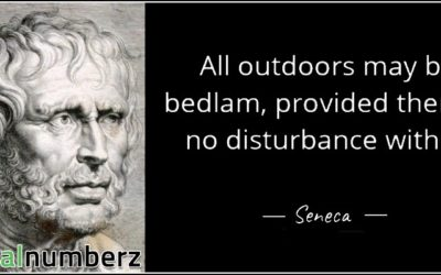 All Outdoors May Be Bedlam, Provided There Is No Disturbance Within